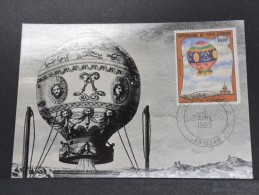 MONTGOLFIERES - Détaillons Collection De Carte Maximum - A Voir - Lot N° 10919