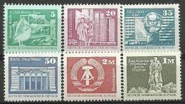 DDR 1980, Aufbau Der DDR , Postfrisch - DDR