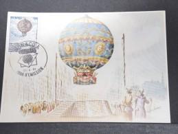MONTGOLFIERES - Détaillons Collection De Carte Maximum - A Voir - Lot N° 10920