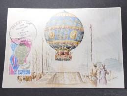 MONTGOLFIERES - Détaillons Collection De Carte Maximum - A Voir - Lot N° 10976