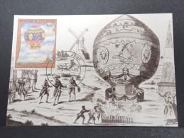 MONTGOLFIERES - Détaillons Collection De Carte Maximum - A Voir - Lot N° 10977