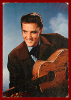 Théme Spectale Artiste       Elvis Presley     Scan Recto Et Verso - Artisti