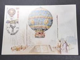 MONTGOLFIERES - Détaillons Collection De Carte Maximum - A Voir - Lot N° 10978