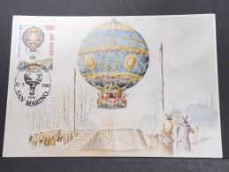 MONTGOLFIERES - Détaillons Collection De Carte Maximum - A Voir - Lot N° 10979