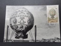 MONTGOLFIERES - Détaillons Collection De Carte Maximum - A Voir - Lot N° 10980