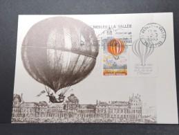 MONTGOLFIERES - Détaillons Collection De Carte Maximum - A Voir - Lot N° 10981