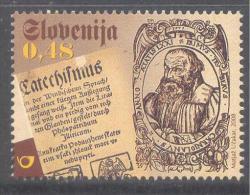 Slowenien Slovenia Slovenia 2008 Mint MNH: Primoz Trubar, Katechismus, Religion; Priest; Catechisnus; First Slovene Book - Glaube, Religion, Kirche