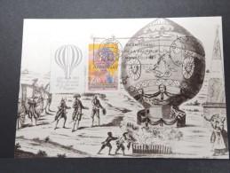 MONTGOLFIERES - Détaillons Collection De Carte Maximum - A Voir - Lot N° 10982