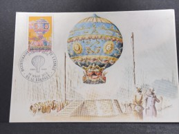 MONTGOLFIERES - Détaillons Collection De Carte Maximum - A Voir - Lot N° 10983