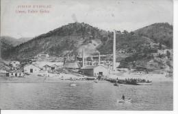 GRECE - LIMNI - Eubée - Voyagé 1912 - Voir Timbre Et Estampille Au Verso  TOP - Greece