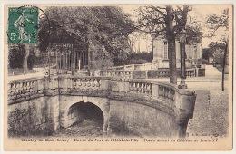 CHOISY-le-ROI .... ENTREE DU PARC DE L´ HÔTEL-DE-VILLE - Choisy Le Roi