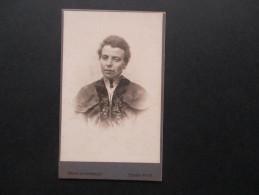 Altes Foto (original) Ca. Jahrhundertwende Eventl. älter!? Frau In Tracht. Fotograf: Heinrich Uhlenbruch Essen West - Fotos