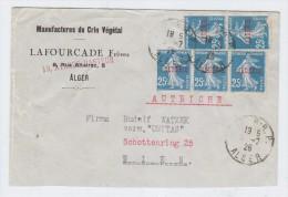 Algeria/Austria COVER 1926 - Algeria (1962-...)
