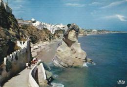Portugal--Faro--1966--Albufeira--Vista Parcial E Praia ( Algarve )----Quarteira-a, Montmirail,Francia - Faro