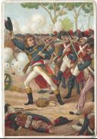 Image Chromo Révolution Illustration CARNOT à WATTIGNIES 17 Octobre 1793 Houchard   / Napoléon Général Bonaparte Consul - Chromo