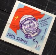 PIA - ROMANIA : 1964 : La Conquista Dello Spazio : Yuri Gagarin  - (YV P.A. 199) - Poste Aérienne