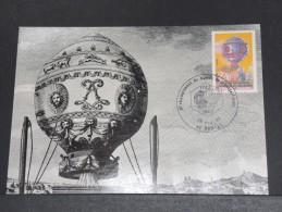 MONTGOLFIERES - Détaillons Collection De Carte Maximum - A Voir - Lot N° 10984