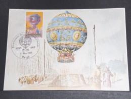 MONTGOLFIERES - Détaillons Collection De Carte Maximum - A Voir - Lot N° 10985