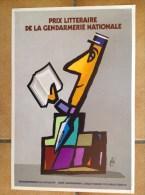 Affiche - FORé - Gendarmerie - Prix Litteraire De La Gendarmerie Francaise - Lecture - Affiches