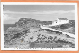S. MARTINHO DO PORTO  (cpsm Portugal)    Capelinha De S. Antonio E Morro Do Facho - Portugal