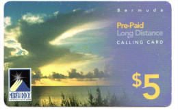 BERMUDES RECHARGE GSM NORTH ROCK Année 2007 - Bermuda