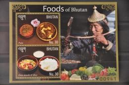 B 356 ++ BHUTAN 2015 ETEN FOOD MEALS MANGE MNH ** - Unclassified