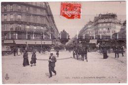 585- PARIS -Boulevard Magenta -ed. C.L.C. - District 10
