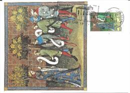 2708 GASTON FEBUS -  600e ANNIVERSAIRE - 64 SAUVETERRE DE BEARN - Cartoline Maximum