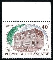 POLYNESIE 1988 - Yv. 323 ** SUP Bdf  Cote= 1,20 EUR - La Poste De 1915 ..Réf.POL22452 - Französisch-Polynesien