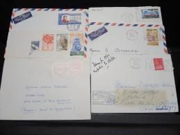 COMORES - Lot De 17 Lettres Adressées De France Pour Les Comores - A Voir - P16735 A