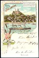 1360 - Ohne Porto - Alte Litho Ansichtskarte Gruß Aus Hamburg Süllberg Gel 1899 - Blankenese