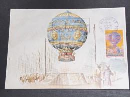 MONTGOLFIERES - Détaillons Collection De Carte Maximum - A Voir - Lot N° 10921