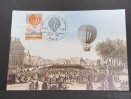 MONTGOLFIERES - Détaillons Collection De Carte Maximum - A Voir - Lot N° 10922
