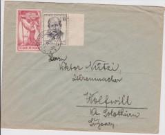 TCHECOSLOVAQUIE 1957 LETTRE DE KOSLAVICE - Covers & Documents