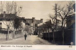 Lazio-roma-bracciano Via Principe Di Napoli Veduta Primi 900 (N P G) - Italia