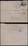 ZA108 Lettre De Lessines à Mons 1920 - Lettres & Documents