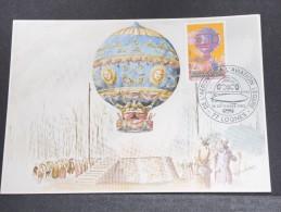MONTGOLFIERES - Détaillons Collection De Carte Maximum - A Voir - Lot N° 10924
