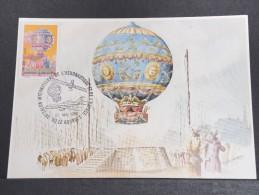 MONTGOLFIERES - Détaillons Collection De Carte Maximum - A Voir - Lot N° 10925