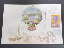 MONTGOLFIERES - Détaillons Collection De Carte Maximum - A Voir - Lot N° 10926