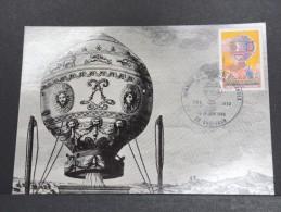 MONTGOLFIERES - Détaillons Collection De Carte Maximum - A Voir - Lot N° 10927