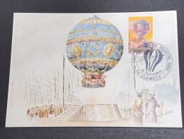 MONTGOLFIERES - Détaillons Collection De Carte Maximum - A Voir - Lot N° 10928