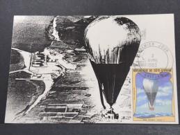 MONTGOLFIERES - Détaillons Collection De Carte Maximum - A Voir - Lot N° 10929