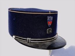 BEL ANCIEN KEPI PREFECTURE POLICE PARIS Années 1950 à Voir ..............#.5 - Police