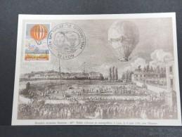 MONTGOLFIERES - Détaillons Collection De Carte Maximum - A Voir - Lot N° 10930