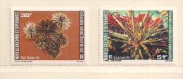 NOUVELLE CALEDONIE  ( NC - 679 )   1981   N° YVERT ET TELLIER  N° 215/216      N** - Poste Aérienne