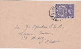 GRANDE BRETANGE COLONIE DE RHODESIE  NYASALAND 1953 - Nyassaland (1907-1953)