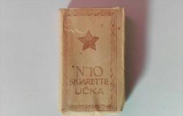 SIGARETTE UCKA, Bustina Da 10 Sigarette, Istria 1944 - Schnupftabakdosen (leer)