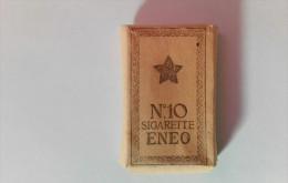 SIGARETTE ENEO, Bustina Da 10 Sigarette, Istria 1944 - Schnupftabakdosen (leer)