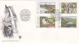 Venda 1981 Lakes And Waterfalls FDC - Venda