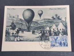 MONTGOLFIERES - Détaillons Collection De Carte Maximum - A Voir - Lot N° 10932